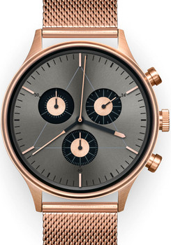 Cronometrics Engineer S6 Rose Gold Mesh