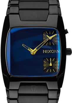 Nixon Banks Black/Cosmos