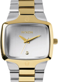 Nixon Player Silver/Light Gold