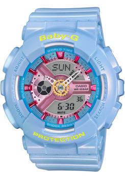 G-Shock BabyG BA-110CA-2A Neo Pastel Blue
