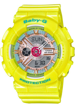 G-Shock BabyG BA-110CA-9A Neo Pastel Yellow