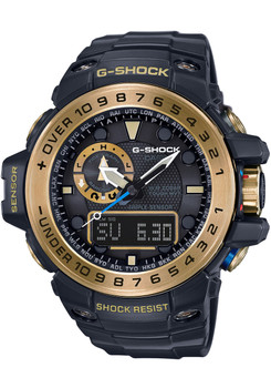 G-Shock Gulfmaster Solar Tide Black/Gold