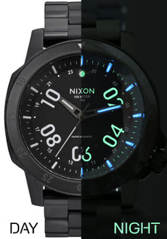 Nixon Night Ranger Tritium GMT Limited Edition