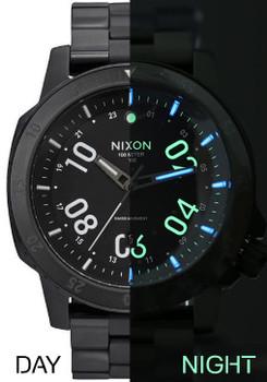Nixon Night Ranger Tritium GMT Limited Edition