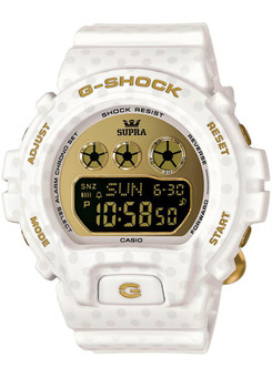 G-Shock + Supra Limited Edition White