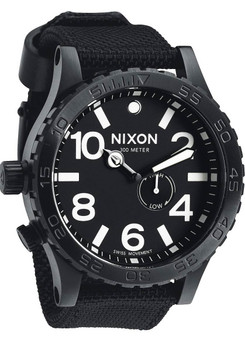 Nixon 51-30 Tide All Black Nylon