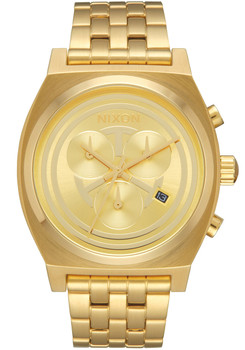 Nixon Time Teller Chrono Star Wars C-3PO Gold