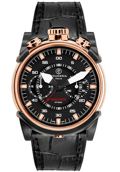 CT Scuderia Coda Corta Chrono Rose Gold