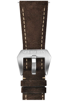 CT Scuderia Brown Suede Strap