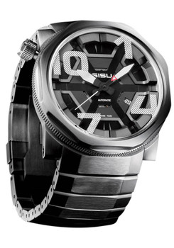 "SISU Bravado BA7-50-SS ""CAGE"" Swiss Automatic Ltd. Edition"