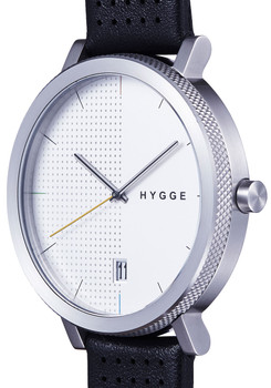 Hygge 2203 Duality Leather Silver