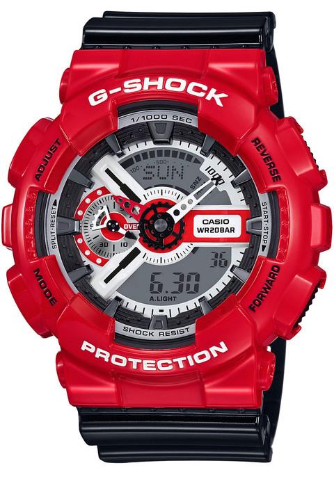 G-Shock GA-110RD-4A XL Red/Black
