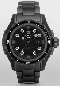 Zodiac ZO8600 Super Sea Wolf Diver All Black