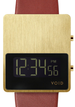 VOID V01EL-GO/BG DIGITAL GOLD/BURGUNDY