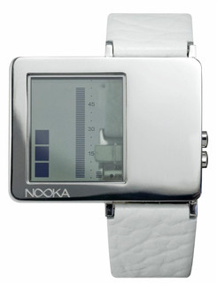 Nooka ZAZ Leather White
