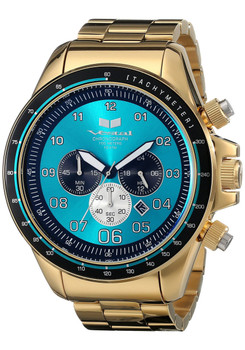 Vestal ZR3030 ZR-3 XL Polished Gold/Teal