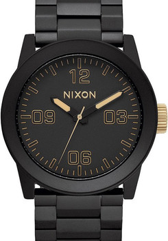 Nixon Private SS Matte Black/Gold
