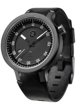 Minus-8 Layer Leather Automatic Black/Black
