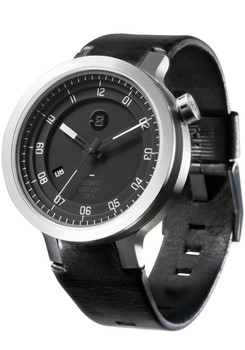 Minus-8 Layer Leather Automatic Silver/Black