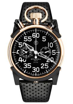 CT Scuderia Corsa Chronograph Black/Rose Gold