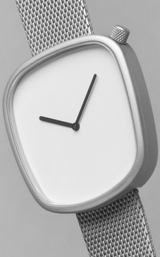 Bulbul Pebble 06 Matte Steel / German Milanese Mesh