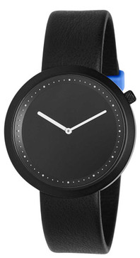 Bulbul Facette 01 Black Steel / Black Leather