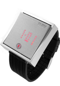 Click Wall Switch Watch -Silver