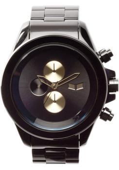 Vestal ZR3036 Minimalist Chronograph Black Gold