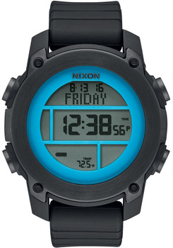 Nixon Unit Dive Black/Sky Blue/Gunmetal