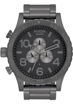 Nixon 51-30 Chrono All Gunmetal