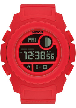 Nixon Super Unit All Red
