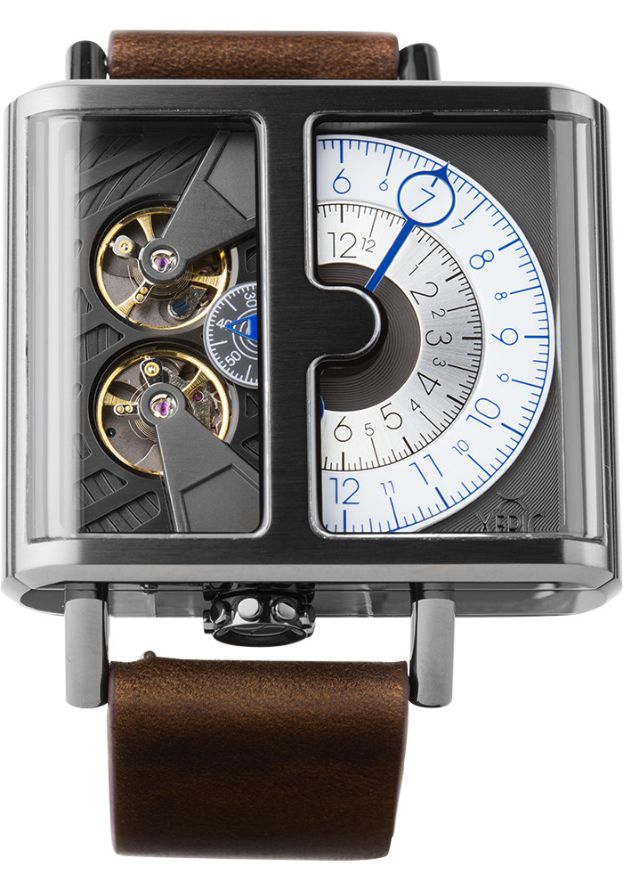 xeric soloscope automatic gunmetal limited edition sla 3017
