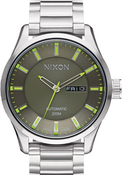 Nixon Automatic II Swiss Limited Edition Sage/Volt