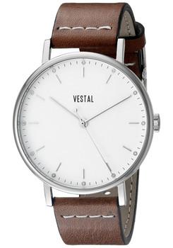 Vestal SPH3L02 Sophisticate Ultra-Thin Brown Silver