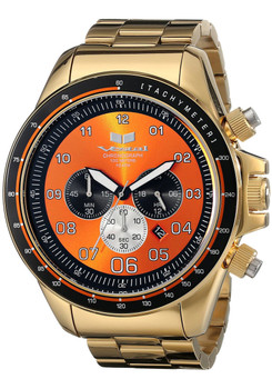 Vestal ZR3029 ZR-3 XL Polished Gold/Orange