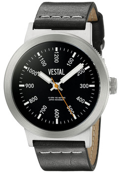 Vestal SLR3L002 The Retrofocus Black Silver