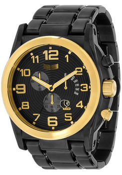 Vestal DEV013 De Novo Chronograph Black Gold