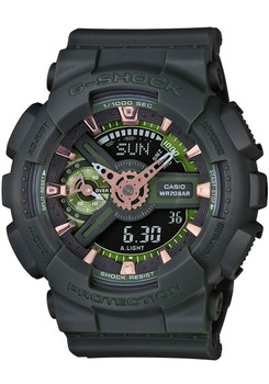 G-Shock S-Series Military Green