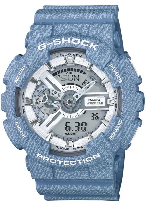G-Shock GA-110DC Limited Edition Blue Denim