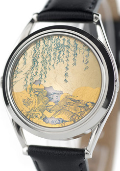 Mr. Jones Chinoiserie Automatic 22 Carat Gold Limited Edition