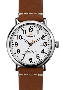 Shinola Runwell w/ Date 41mm, Brown Leather Strap main