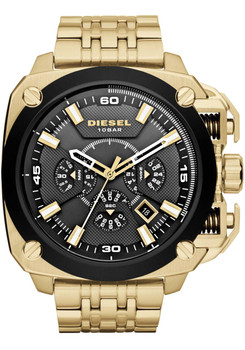 Diesel Watch DZ7378 BAMF Chrono Gold Black Main