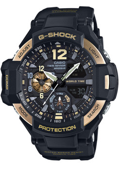 G-Shock Gravitymaster Aviation Black Gold (GA-1100-9G)