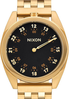 Nixon Genesis SS All Black Gold (A920510)