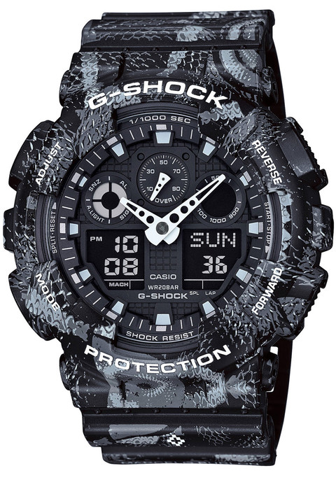 G-Shock Marcelo Collab Limited Edition (GA-100MRB-1A)