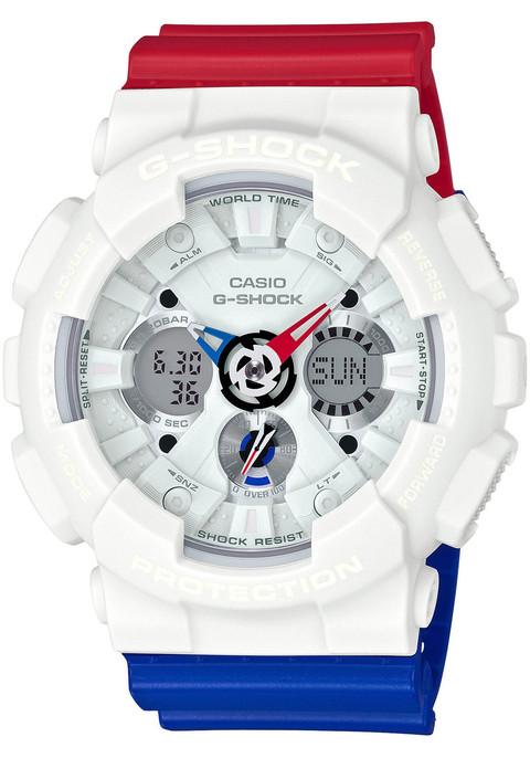 G-Shock GA-120TRM Tri Color Limited Edition (GA-120TRM-7A)