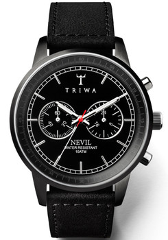 Triwa Midnight Nevil Black (NEST111-SC010112)