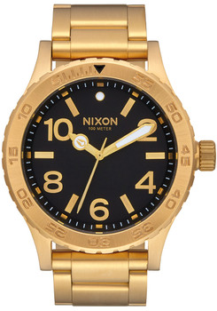 Nixon 46 All Gold Black (A916510)