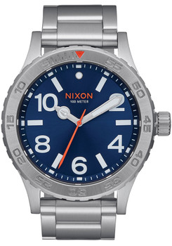 Nixon 46 Blue Sunray Watch (A9161258)