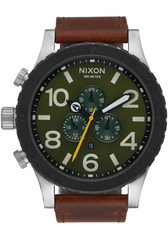 Nixon 51-30 Chrono Leather Surplus Brown (A1242334)